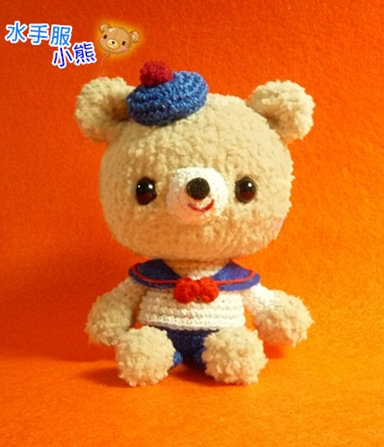 水手服小熊