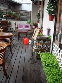 幸福藤牆壁彩繪-Coffee Relax咖啡店面介紹-3.JPG