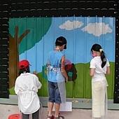 幸福藤-台北資訊園區-圍籬彩繪-現場DIY彩繪01.jpg
