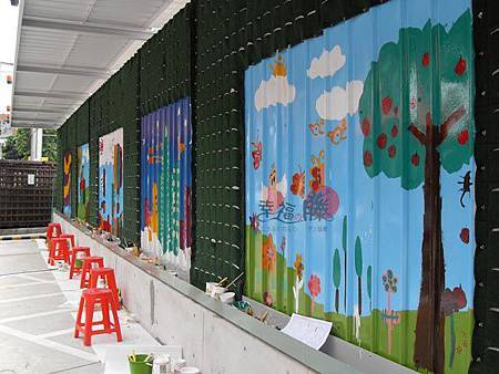 幸福藤-台北資訊園區-圍籬彩繪-現場DIY彩繪完成品01.jpg