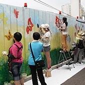 『老街溪開工動起來 圍籬彩繪嘉年華』活動-比賽現場06.JPG