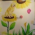手繪壁畫、手工彩繪、牆面設計、壁畫藝術、家飾彩繪、牆面藝術、彩繪工程、彩繪藝術、彩繪、故事屋彩繪、故事屋壁畫-07
