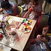 幸福藤 手工彩繪-家扶大同育幼院-園遊會遊戲攤-壓克力彩繪-彩繪教學03