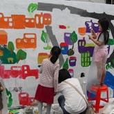 幸福藤-彩繪活動教學 彩繪教學指導 美術教學 畫畫教學 大型彩繪活動教學-完成作品44.JPG
