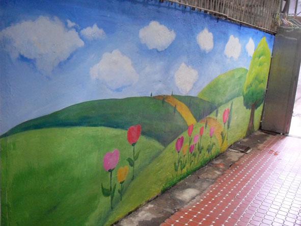 幸福藤 牆壁彩繪-為榮光育幼院義務彩繪-彩繪成果01.jpg