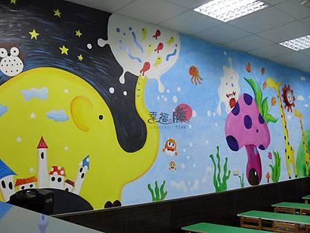 牆壁彩繪、手繪壁畫彩繪藝術、手工彩繪、牆面設計、壁畫藝術、牆面藝術、彩繪、壁畫工程02.jpg