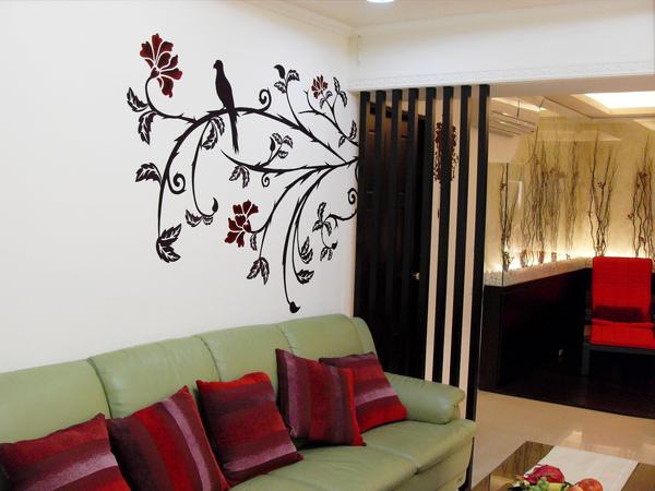 手工壁畫 非星空壁畫 牆壁彩繪 非壁貼 彩繪牆壁 壁畫-01