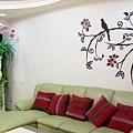 牆壁彩繪 非壁貼 彩繪牆壁 壁畫 手工壁畫 非星空壁畫-08