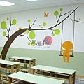 非星空壁畫 牆壁彩繪 非壁貼 彩繪牆壁 壁畫 手工壁畫 -17