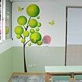 壁畫 牆壁彩繪 非壁貼 手工壁畫 非星空壁畫 彩繪牆壁 -21