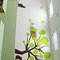 彩繪牆壁 壁畫 手工壁畫 非星空壁畫 牆壁彩繪 非壁貼 -22