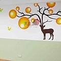 壁畫 手工壁畫 非星空壁畫 牆壁彩繪 非壁貼 彩繪牆壁 -23