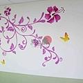 彩繪牆壁 壁畫 手工壁畫 非星空壁畫 牆壁彩繪 非壁貼 -24