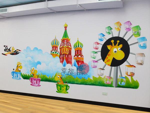 壁畫 手工壁畫 非星空壁畫 牆壁彩繪 非壁貼 彩繪牆壁 -27