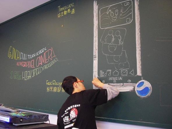 幸福藤 手工壁畫_彩繪實況01.jpg