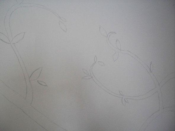幸福藤 彩繪牆壁 牆壁彩繪 手工壁畫 彩繪施工情形-02.jpg
