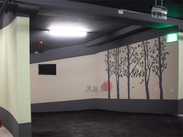 地下停車場彩繪、牆面彩繪、彩繪工程、手工壁畫、牆壁彩繪、牆壁設計、彩繪牆壁、彩繪藝術、手繪壁畫、手工彩繪、壁面彩繪