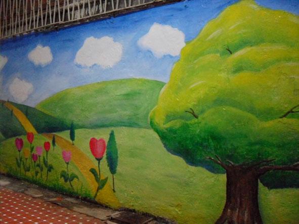 幸福藤 牆壁彩繪-為榮光育幼院義務彩繪-彩繪成果02.jpg