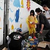 牆壁彩繪、手繪壁畫、壁畫工程、兒童房彩繪、彩繪工程、彩繪藝術、壁畫藝術、牆面設計、家飾彩繪--現場藝術指導01.JPG