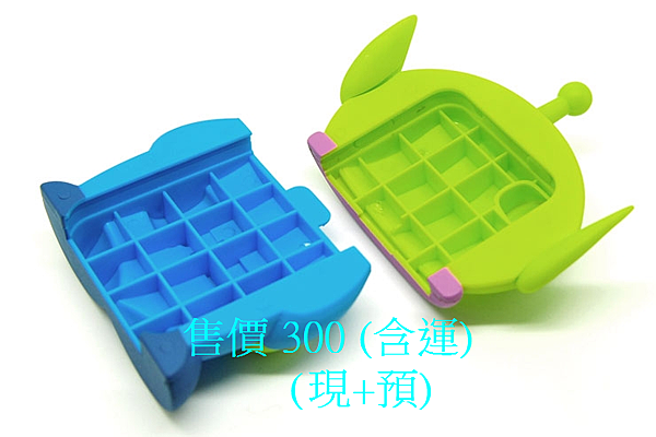 樣式 立體三眼怪  材質 塑膠