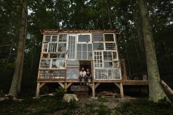 很宮崎駿的森林窗戶小屋1-600x400