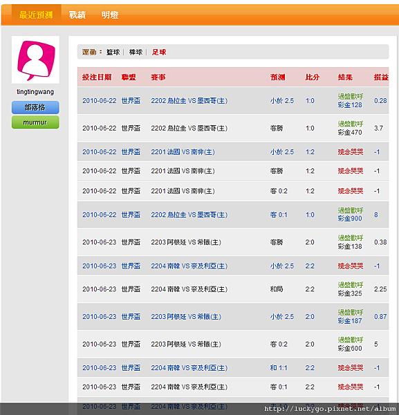 100622 大贏家 tingtingwang