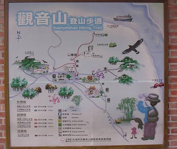 觀音山地圖1