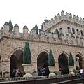 園內很多古堡建築