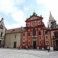 聖維特大教堂東邊的舊皇宮