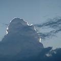 很特別的一片雲