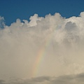 驚奇發現一道彩虹