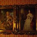 男女主人油畫
