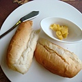 鄉村麵包桔子醬