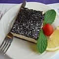 黑岩乳酪蛋糕~我超愛