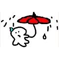 小波肥雨傘