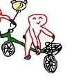 小波肥學騎車