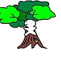 波肥爬樹去~