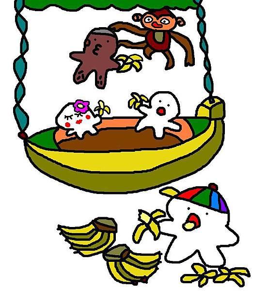 小波肥玩香蕉船