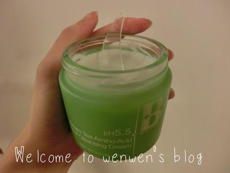 bp小白花,綠茶氨基酸洗面乳