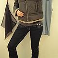 Jill Stuart coat, TR jeans, SF audrey