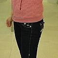MBMJ jacket, TR jeans, London sole ballerina