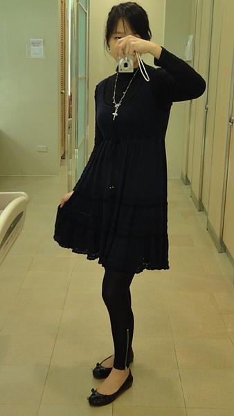 jill stuart knit dress/MBMJ shoes/Les Nereides necklace