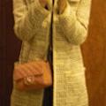 chanel bag/ dress and tweed by jill stuart