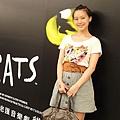 jill stuart T-shirt and skirt/ Marc Jacobs downtown bag