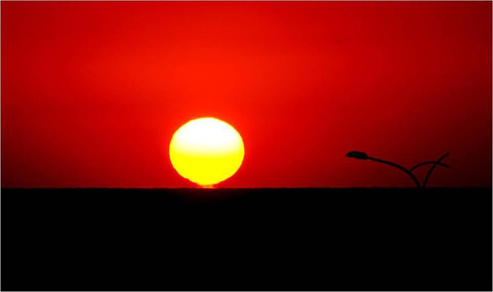 竹南的日落-林東生攝影作品