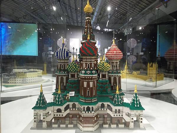 俄羅斯聯邦-莫斯科-聖巴希爾教堂-1990年登錄世界文化遺產-積木數量16000顆
