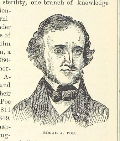 1882年的愛倫坡肖像畫