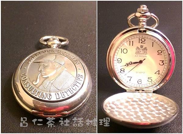 A. E. Williams出品的福爾摩斯懷錶3