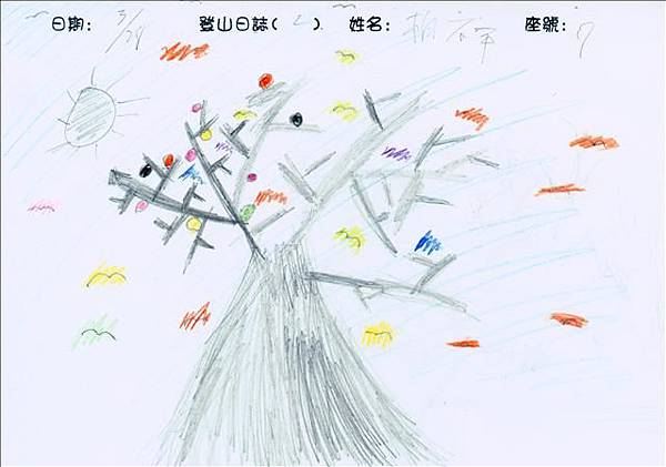 960328登山畫01