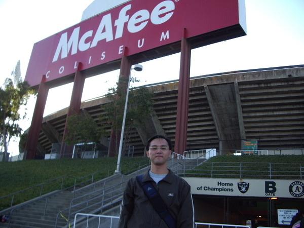 McAfee球場招牌